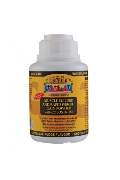 21st Muscle Builder & Rapid Weight Gain Powder with Colostrum 250g