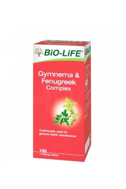Bio-Life Gymnema & Fenugreek Complex 100's