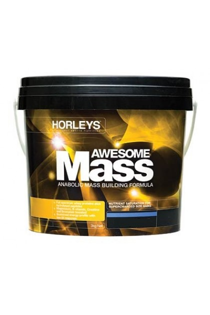 Horleys Awesome Mass Double Chocolate 3kg