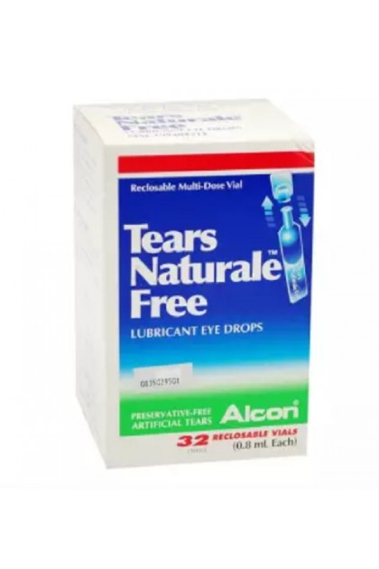 Alcon Tears Naturale Free Lubricant Eye Drops (32's)