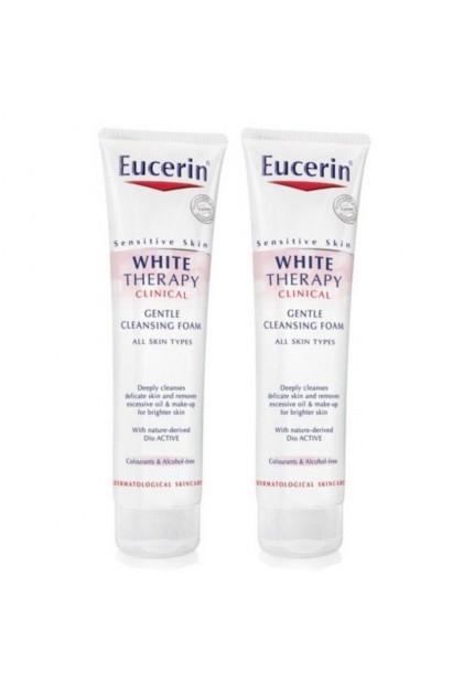 [Twin Pack] Eucerin Ultrawhite Spotless Cleansing Foam (2 x 150ml)
