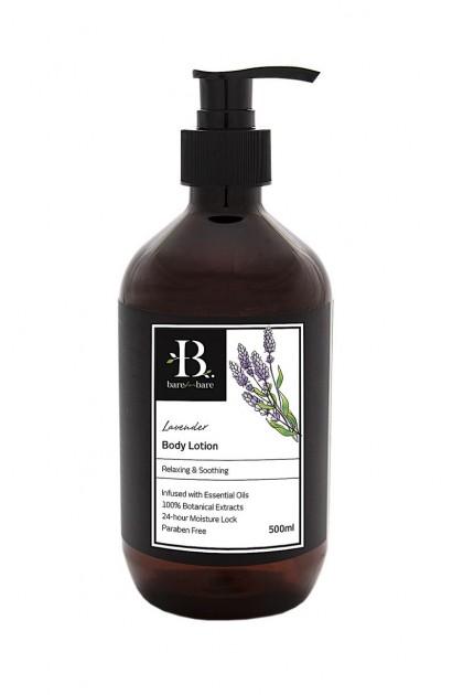 Bare for Bare Lavender Body Lotion (500ml)