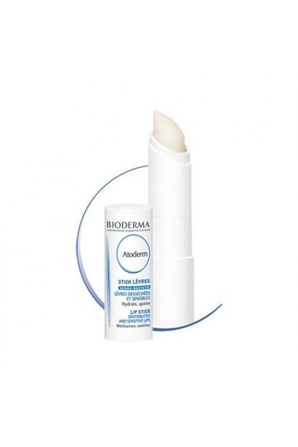 Bioderma Atoderm Moisturising Stick Lip Balm 4g