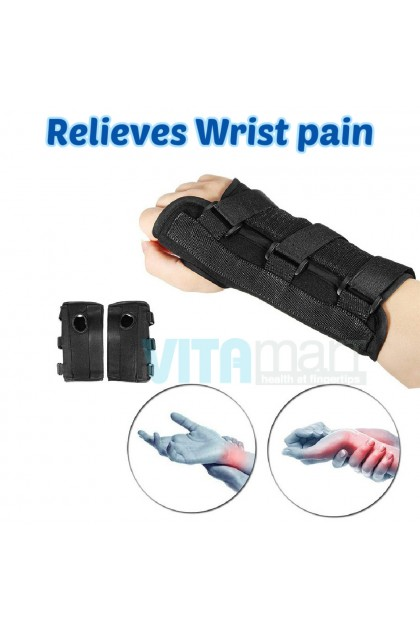 Carpal Tunnel Medical Hand Wrist Support Brace Sprain Arthritis Splint Band Strap Adjustable Compression Brace (Left/Right)