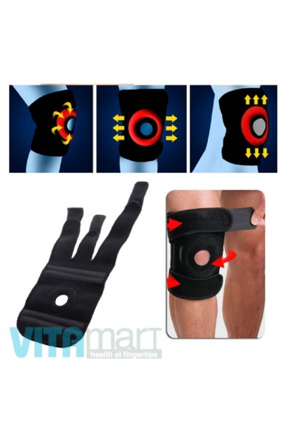 Upgraded 4 Spring Adjustable Knee Guard Elderly Care Exercise (1 piece)