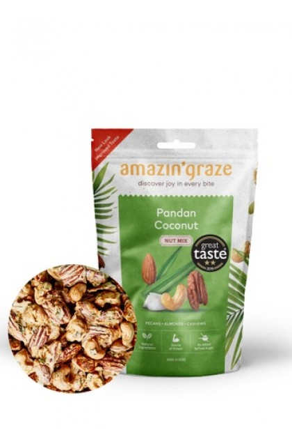 Amazin' Grace Pandan Coconut Nut Mix 100g
